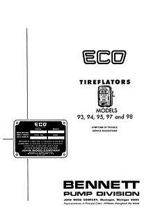 Factory Troubleshooting Guide ECO Tireflator 93 94 95 97