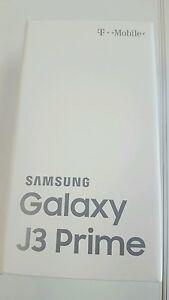 Brand New T-Mobile Samsung Galaxy J3 Prime - 16GB Black Smartphone