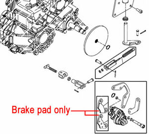 Genuine John Deere Park Brake Pad VGA12183 4X2 HPX 4X4 HPX