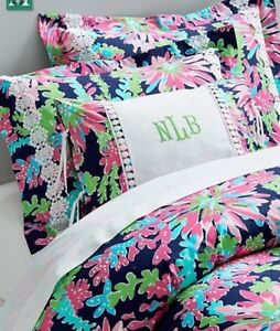 details about lilly pulitzer twin duvet cover sippin and trippin garnet hill