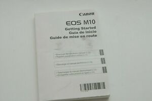Canon EOS M10 Instruction Owners Manual Book Original