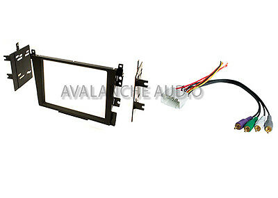 Acura TL CL Double DIN Car Stereo Radio Dash Installation