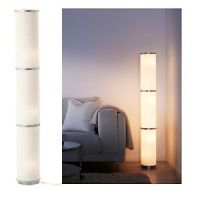 Ikea VIDJA Floor Lamp,White,Diffused & Decorative Light ...