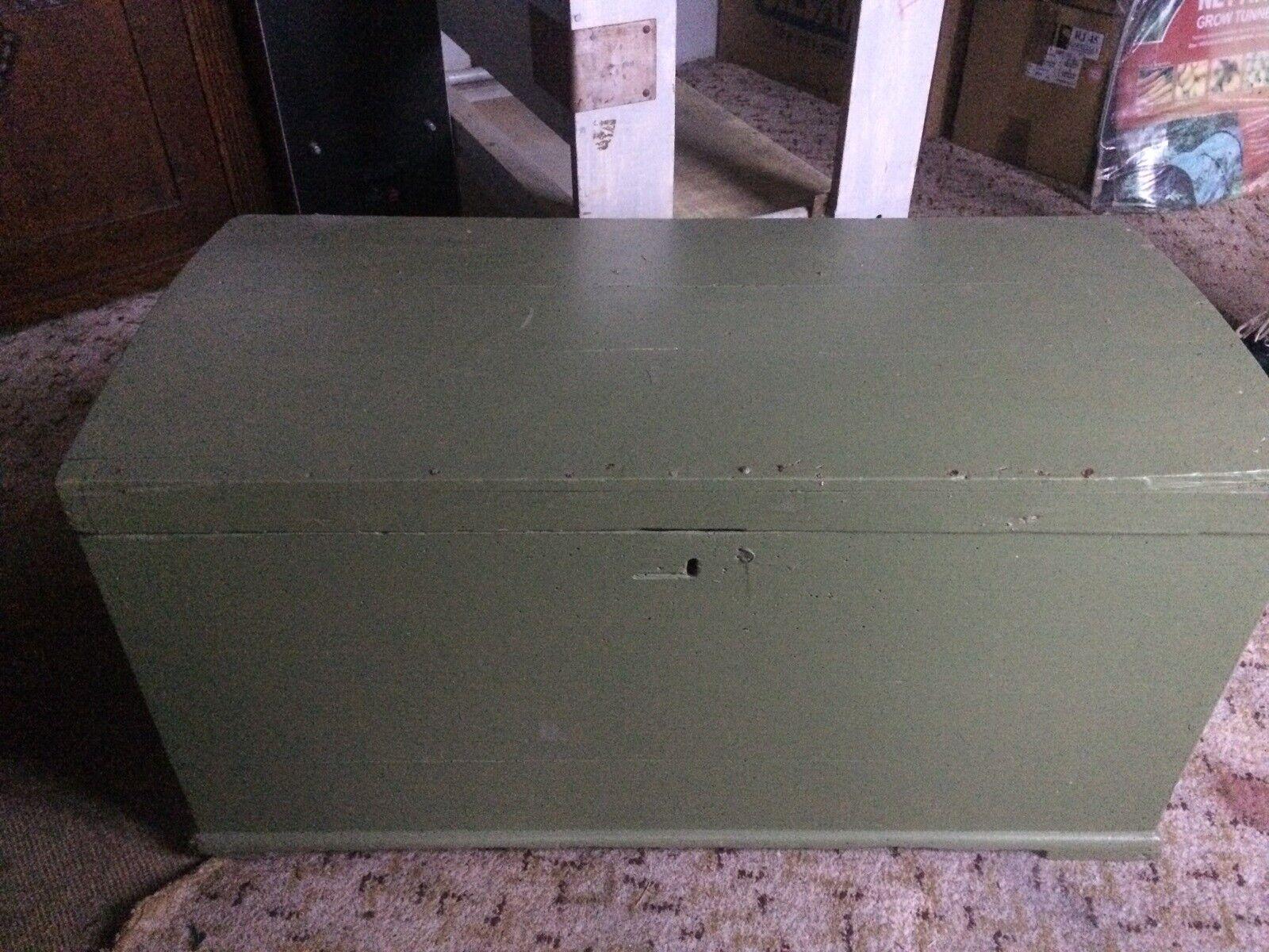 Antik Lille Kuffert Kiste 150 Ar Dba Dk Kob Og Salg