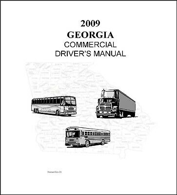 Georgia Commercial Driver's License Manual CDL Training
