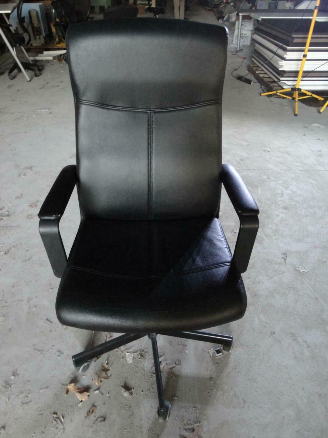 Fingal Swivel Chair Ikea Black Office Swivel High Back Adjustable Arm Desk Task Computer Seat Chair