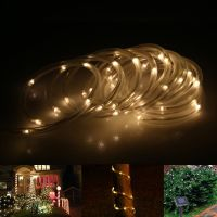 Solar Rope tube lights Led string STRIP Waterproof Outdoor ...