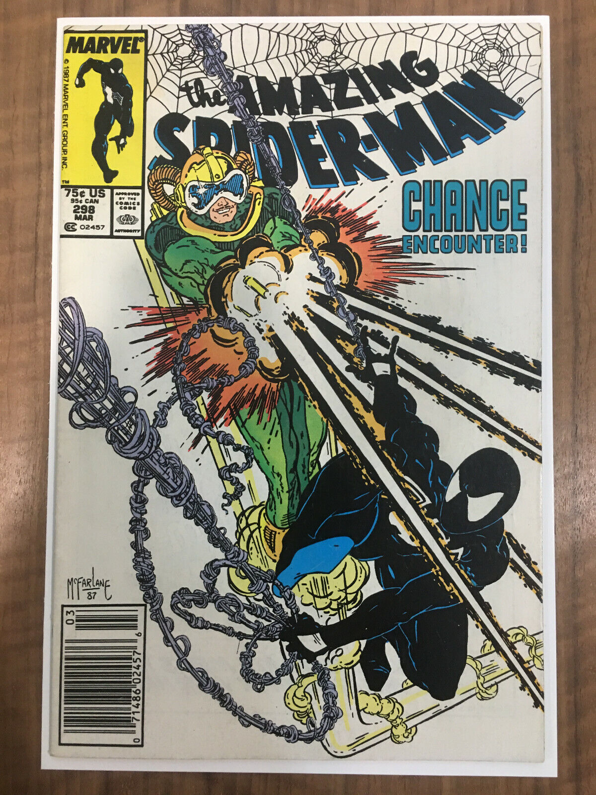 Spiderman 298 : spiderman, Amazing, Spider-Man, 1988,, Marvel), Online