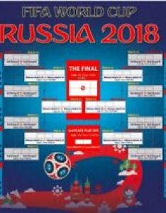 Image is loading russia world cup poster wall chart  also   printed on pvc no rh ebay