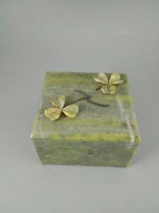 Jade Jewelry Box : jewelry, SALE!!!, Antique, Irish, Green, Jewelry, Price, 0.00, SHIPPING!