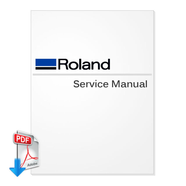 Mutoh ValueJet 1204 Service Manual (pdf Send by Email) for