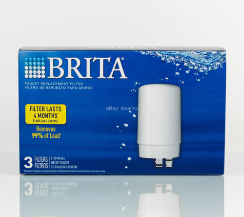 kitchen dining bar brita tap water filter faucet system replacement 3 pack home garden citricauca com