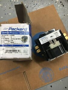 Packard C230b : packard, c230b, Packard, C230B, Double, 2-Pole, Definite, Purpose, Contactor, Parts, Other