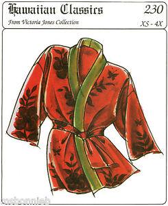 Happi Coat Patterns : happi, patterns, Loose-fit, Happi, Hanten, Victoria, Jones, Sewing, Pattern, XS-2X, His/Hers