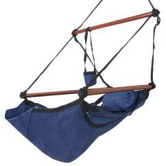 Indoor Hammock Chair Heated Massage Pad New Deluxe Hanging Air Sky Outdoor
