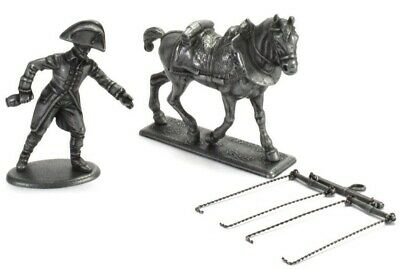 Figure Soldier Napoleonic War Austerlitz metal Horse