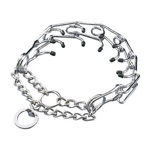 PRONG COLLAR Pinch Choke Chain Dog Training Guardian Gear