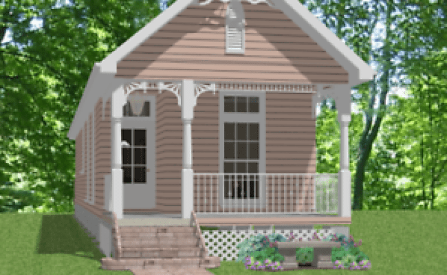 Custom Small Narrow Lot House Home Build Plans 3 Bed 832sf