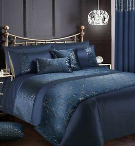 luxury navy velvet sparkle foil