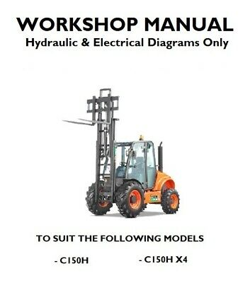 Ausa C150H & C150H X4 Workshop Technician Manual