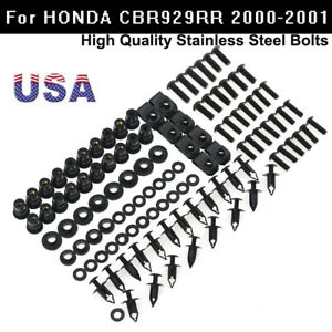 US Fairing Bolts Screws Washers Fasteners Kit For Honda