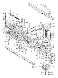 SUZUKI GSX 750 & KATANA 1983-1986 Carburetor stainless