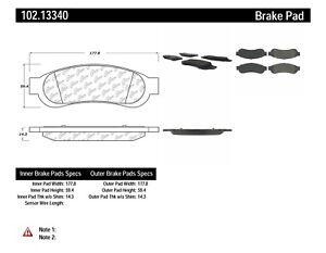 C-TEK Metallic Brake Pads fits 2010-2013 Ford F-250 Super