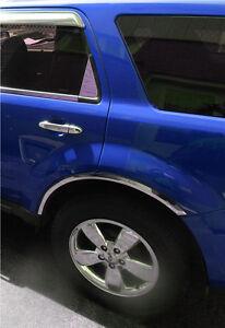 2008 Ford Escape Fender Flares : escape, fender, flares, Truck, Exterior, Mouldings, ESCAPE, WHEEL, FENDER, FLARES, STAINLESS, STEEL, Motors