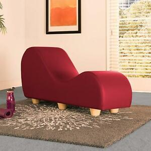 ergonomic yoga chair knoll chadwick drafting red pleasure sexual positions seat couch chaise image is loading