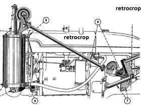 Pneumatic Lift-ALL IH Farmall A AV Cultivator Exhaust Lift