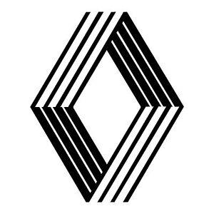 stickers logo RENAULT ref 58 racing tuning autocollant