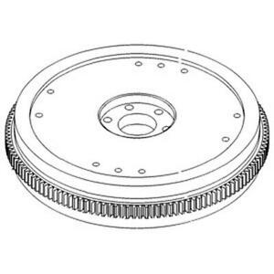 E0NN6375HA Flywheel Fits Ford / Fits New Holland Tractor