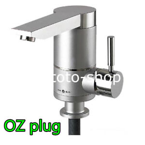 instant water heater kitchen sink menards cabinets electric cold hot tap mixer image is loading amp