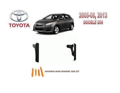 2005-2008, 2013 TOYOTA MATRIX DASH INSTALL KIT for CAR