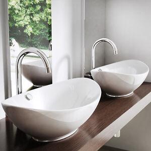 Sogood Lavabo Vasque Suspendu Ou A Poser Ceramique 59cm Bruxelles818 Ebay