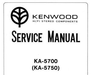 KENWOOD KA-5700 AMPLIFICATORE INTEGRATO STEREO KA-5750