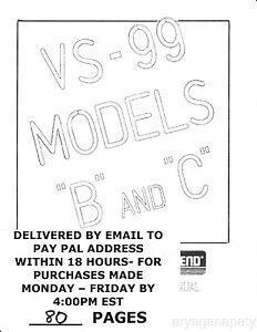 Lektro Vend VS 99 B & C LVC40 (90 pages) PDF sent by email