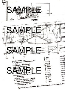 1937 PLYMOUTH P3 MODELS 37 WIRING & FRAME CHART WITH