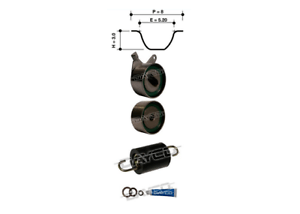 DAYCO TIMING BELT TENSIONER KIT FOR Kia Rio 07.2000-07