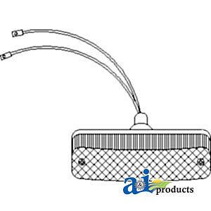 John Deere Parts WARNING LIGHT LED AMBER AR60250 8970,8960