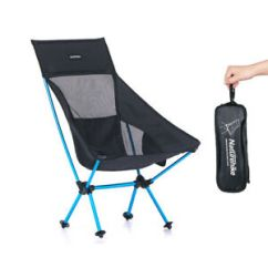 Compact Camping Chair Club Slipcover Folding Fishing Hiking Portable With Image Is Loading