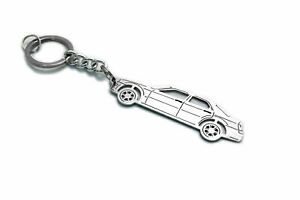 Stainless Steel Keychain for Chrysler 300C I Key Ring Auto