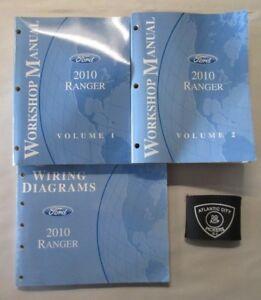 2010 FORD RANGER SERVICE SHOP REPAIR MANUAL & WIRING DIAGRAMS SET | eBay