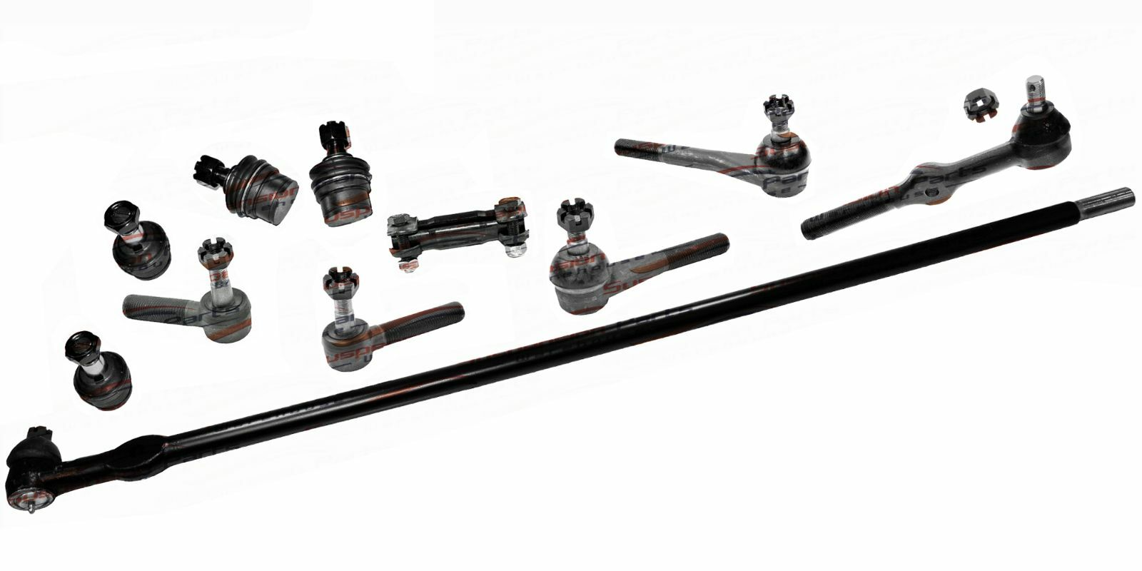 Front New Steering Chassis Part Tie Rod Linkages For