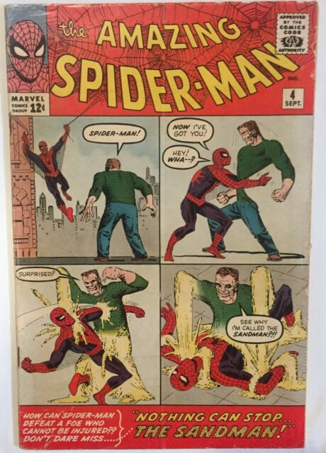 The Amazing Spider Man 4 : amazing, spider, Amazing, Spider-Man, 1963,, Marvel), Online