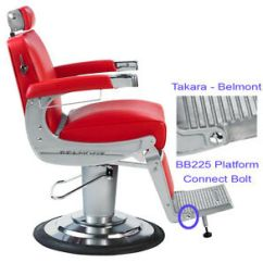Belmont Barber Chair Parts Canada Patio Seat Pads Takara Elegance Bb225 Platform Footrest Image Is Loading