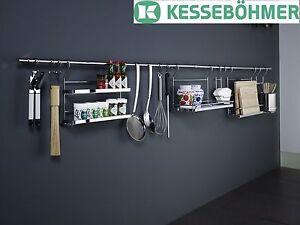 kitchen rail system vigo faucet kessebohmer linero railing bar image is loading