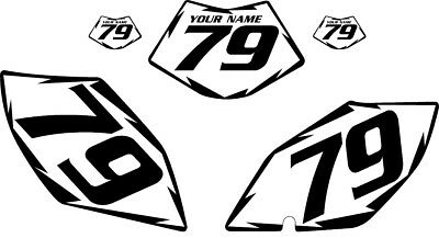 2007-2009 BETA 450 RR/RS Pre-Printed White Backgrounds