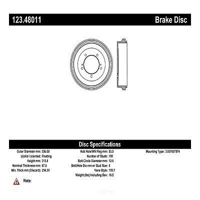 Brake Drum fits 1996-1998 Suzuki Sidekick C-TEK BY CENTRIC