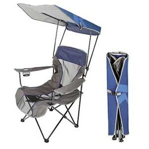 outdoor canopy chair impact x rocker kelsyus premium ebay
